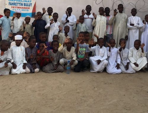 60 sponsorouders steunen onze weeskindjes in Tsjaad!