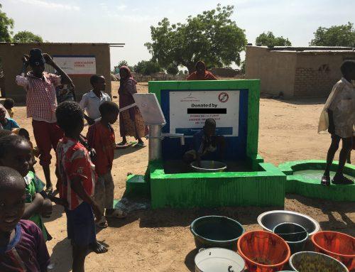 Schoon drinkwatervoor de dorpelingen inTsjaad