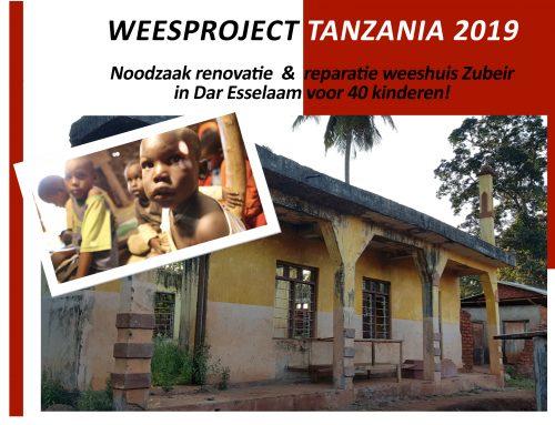 Weesproject Tanzania 2019